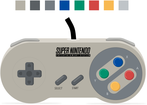 90s transparent video game. Download hd snes controller