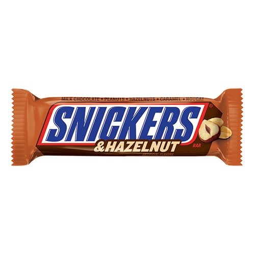 snickers transparent almond