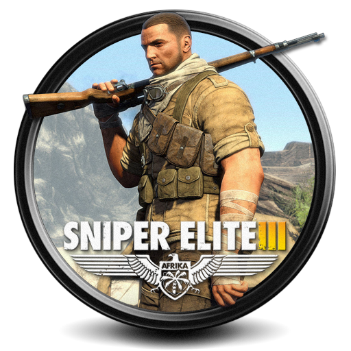 Sniper elite 3 png. Iii icon by s