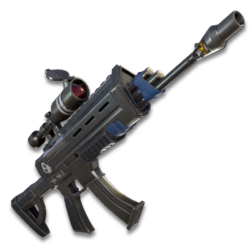 Fortnite sniper png. Scoped assault rifle wiki