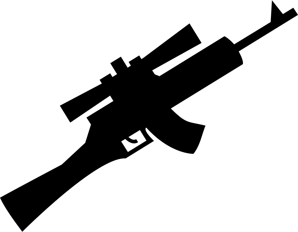 Sniper icon png. Rifle svg free download