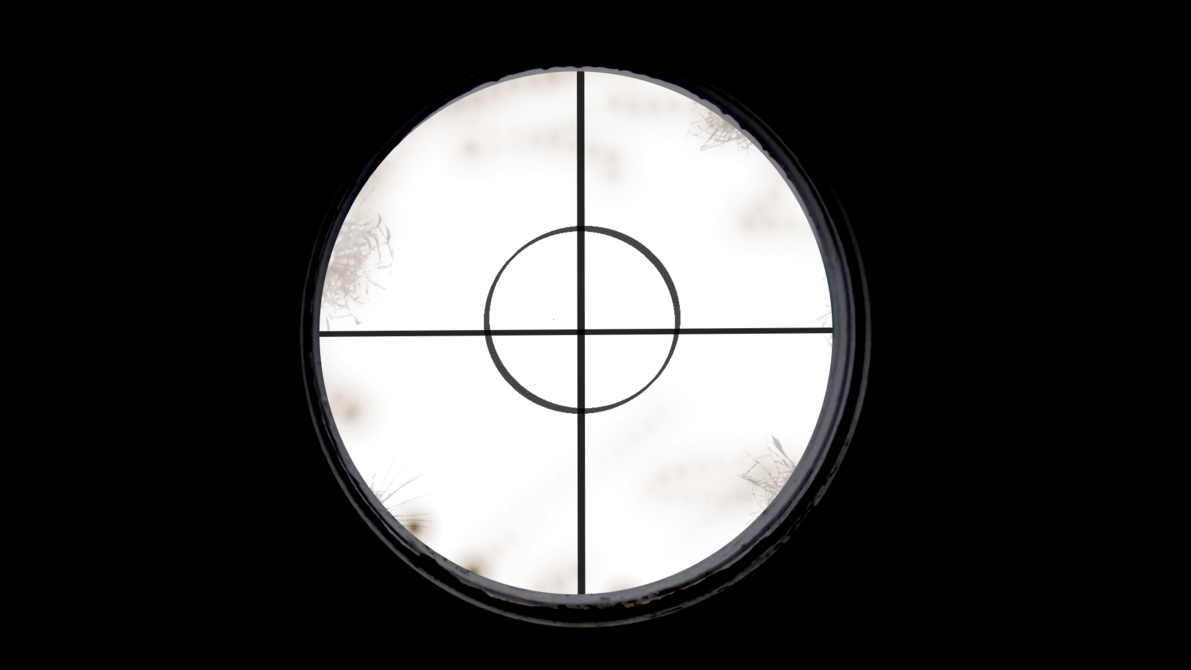 Sniper scope png. Old by huntere on