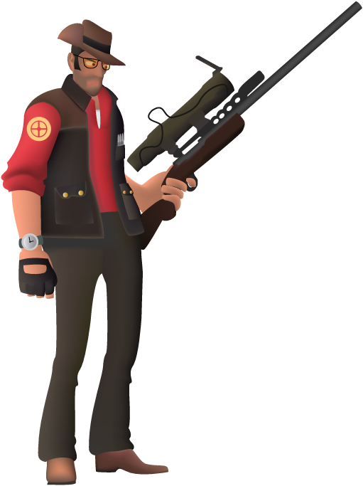 Sniper tf2 png. The tf by ninja