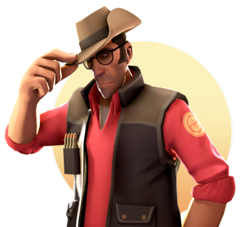 Sniper tf2 png. Sfm tumblr transparent v