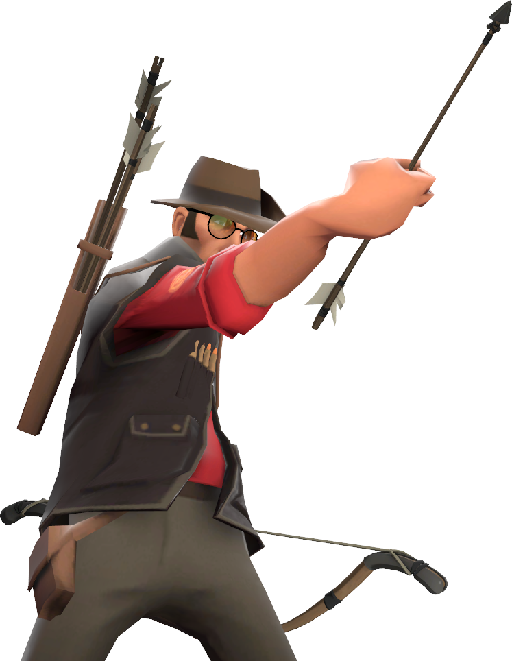 Sniper tf2 png. File sniperarrowstabtauntkill official tf