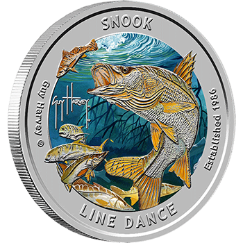 Snook drawing guy harvey. Collection series line dance