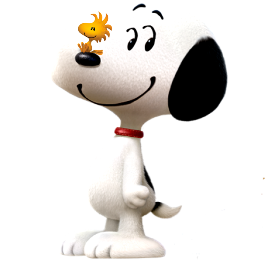 And woodstock in d. Snoopy 3d png clip art black and white library
