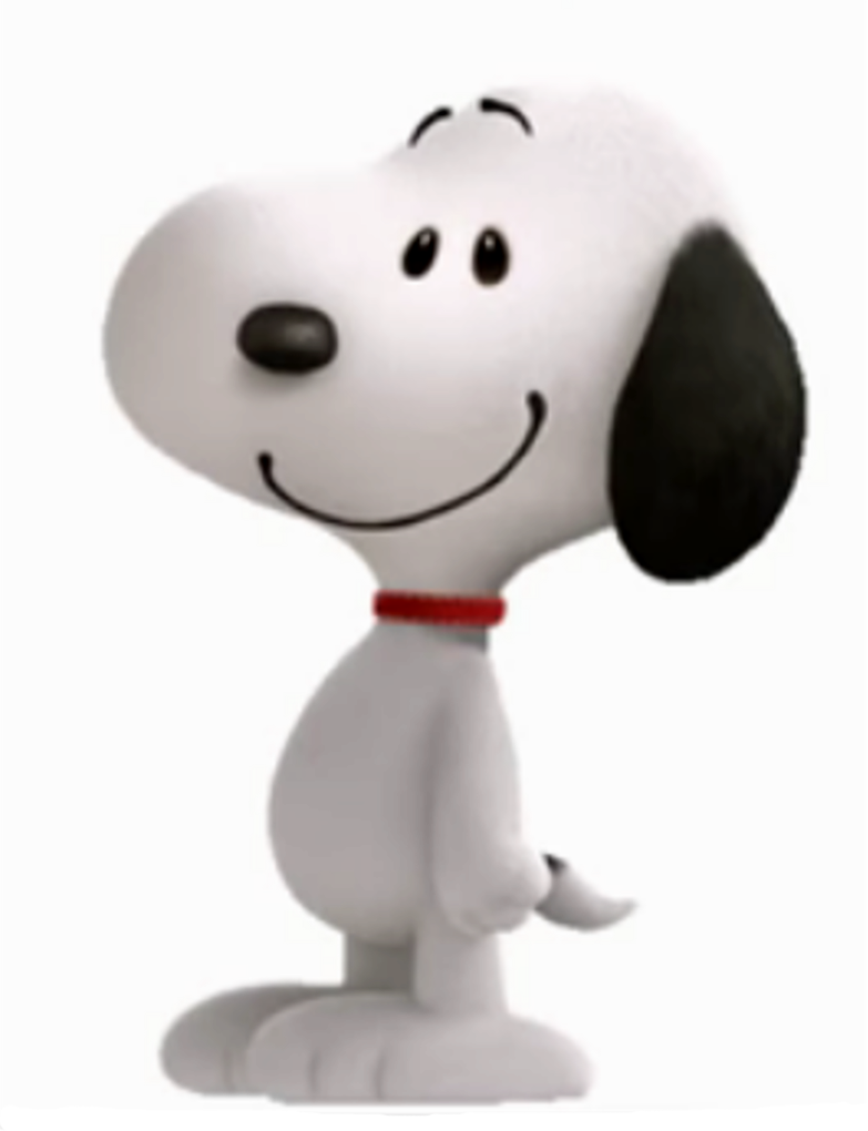 Snoopy 3d png. D peanuts movie by