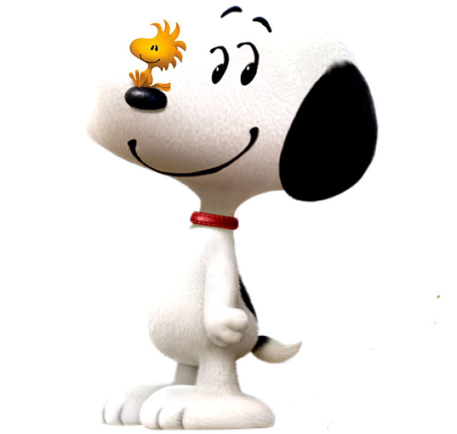 Snoopy 3d png. And woodstock in d