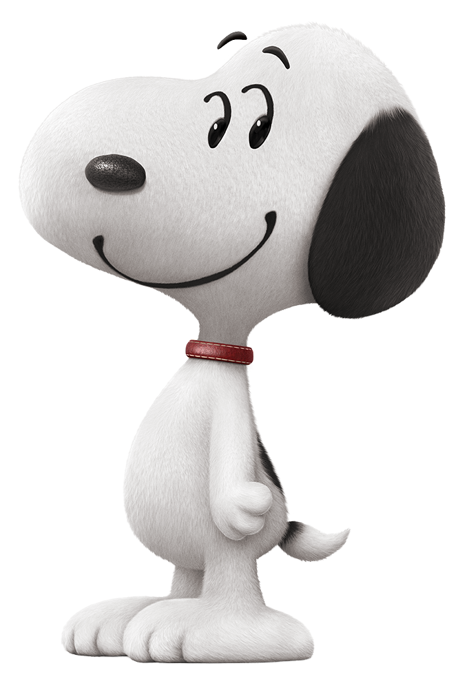 Snoopy png. The peanuts movie transparent