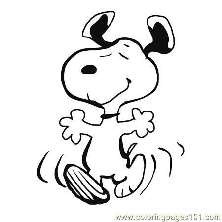 Snoopy clipart. Free