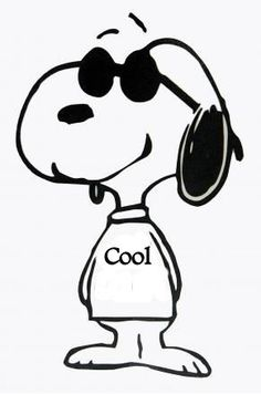 Free clip art pictures. Snoopy clipart svg black and white library