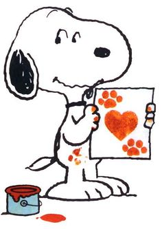 Snoopy clipart artist. Pin by angela ribo