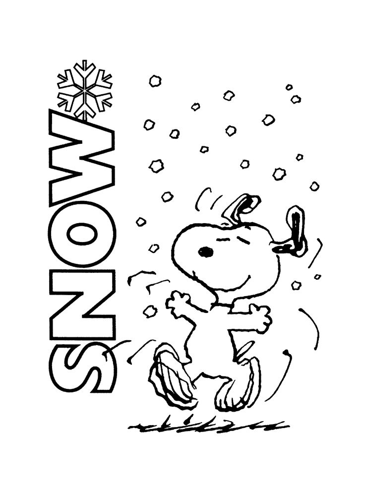 Snoopy clipart winter. Best images on