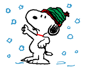 Snoopy clipart winter. Pin by dewi w