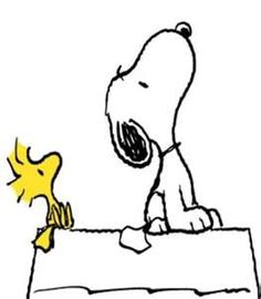 Sad pencil and in. Snoopy clipart picture free stock