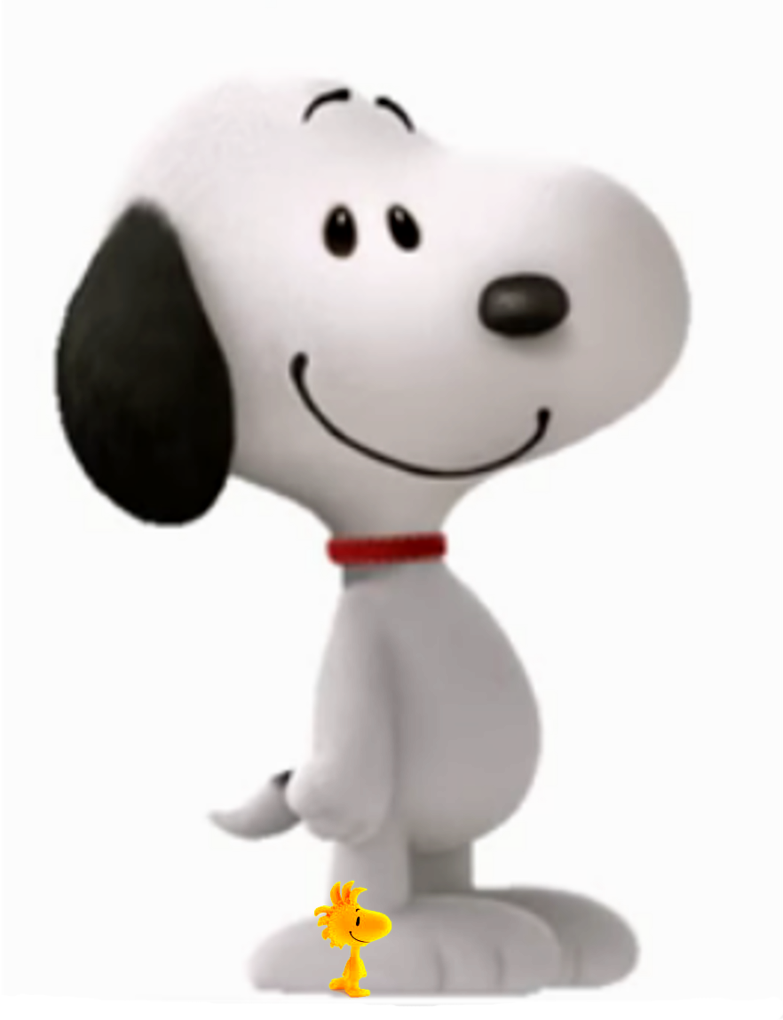 Snoopy 3d png. And woodstock peanuts movie
