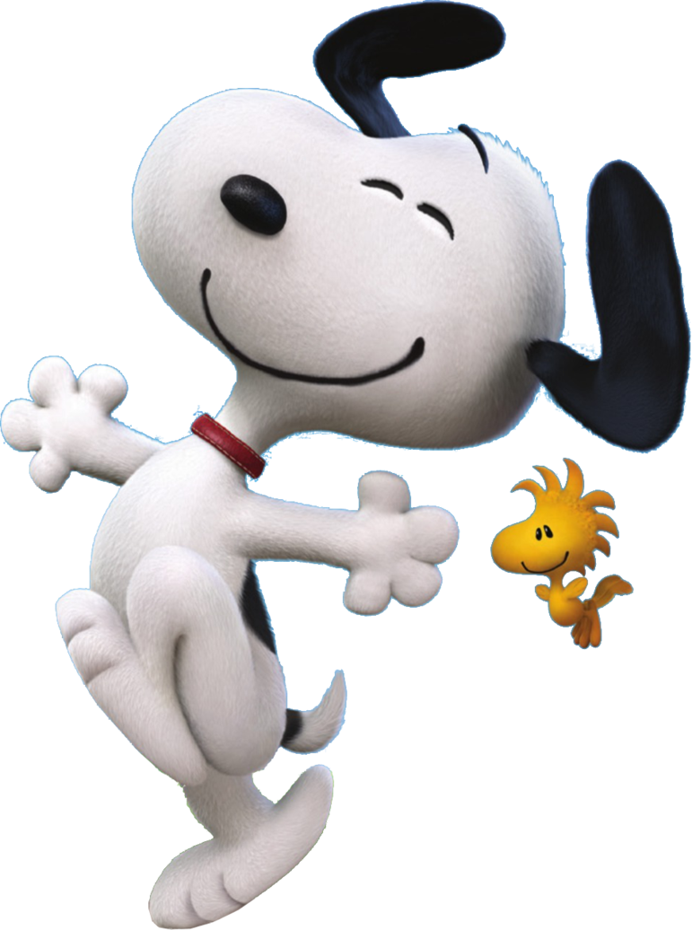 Snoopy png images. Trans back peanuts by