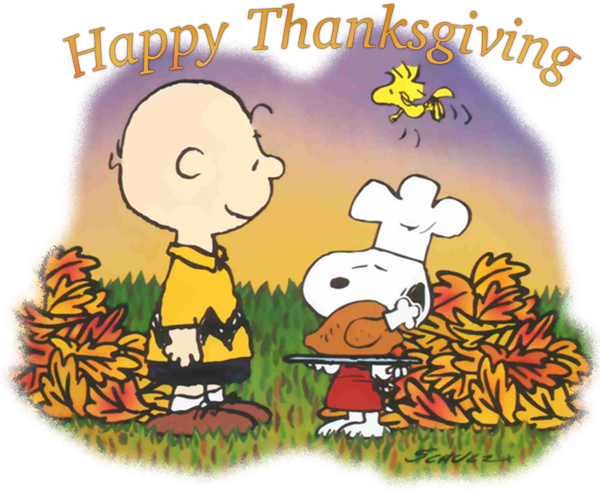 Snoopy thanskgiving png. Collection of peanuts