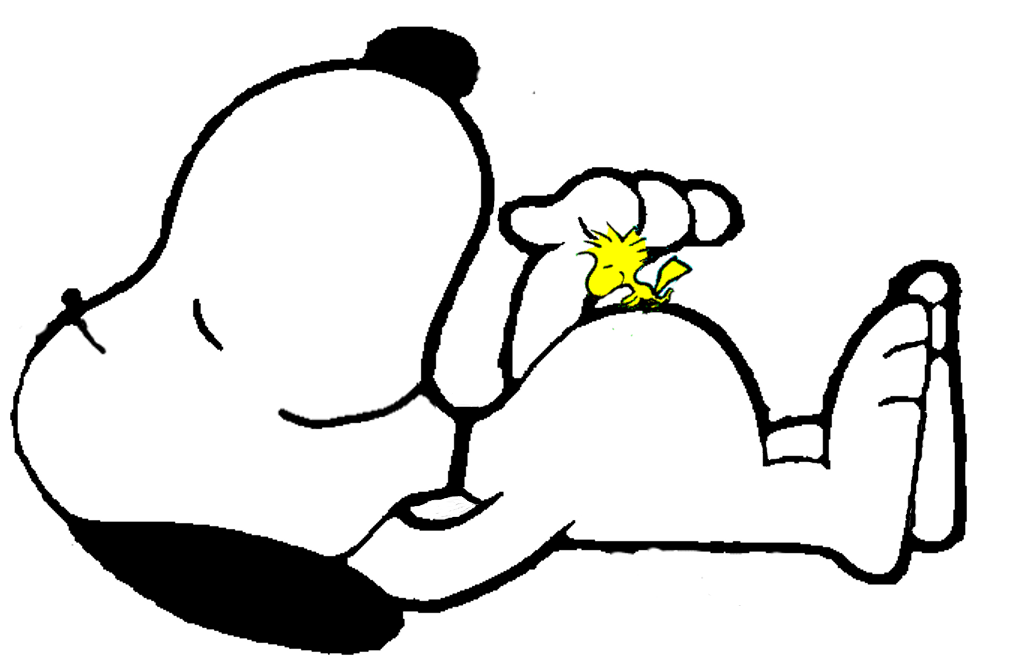 Snoopy transparent png. And woodstock stickpng download