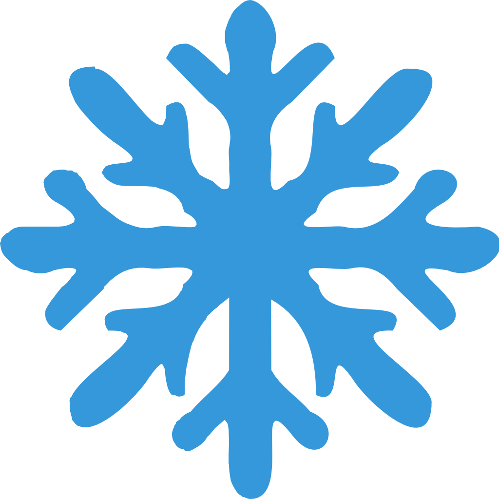 Snowflakes png cute. Snow flake icon small