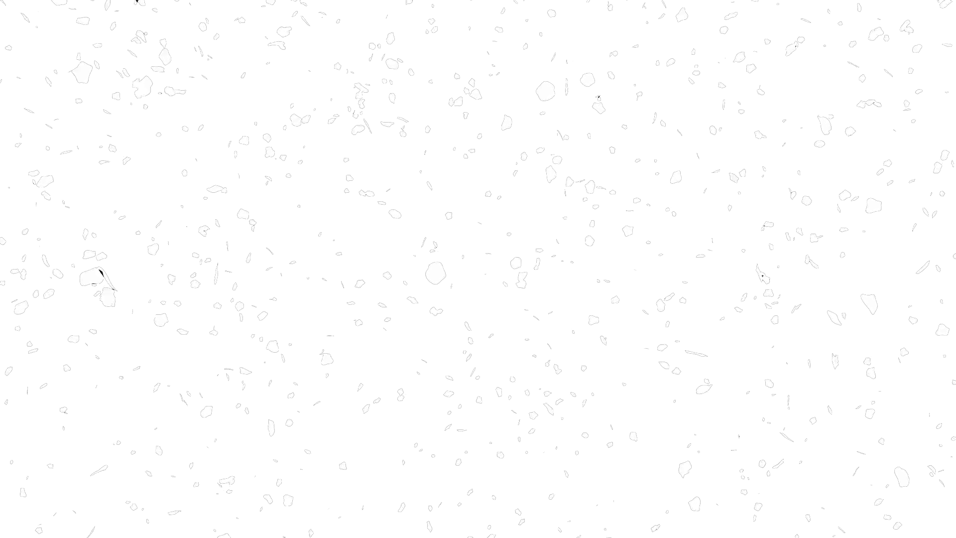 transparent snowfall white
