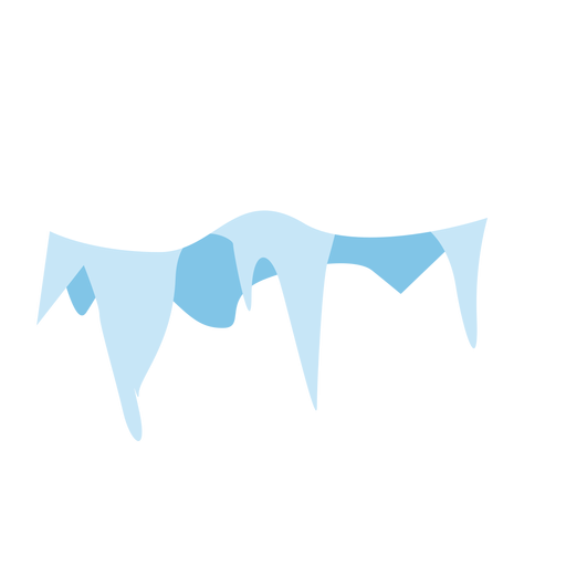 Snow falling transparent png. Icicles cap icon svg