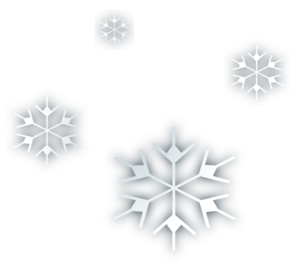 Snowfall vector. Snow flakes clip art