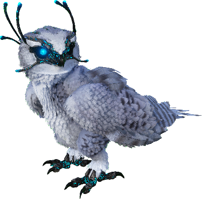 Snow owl png. Taming calculator dododex ark
