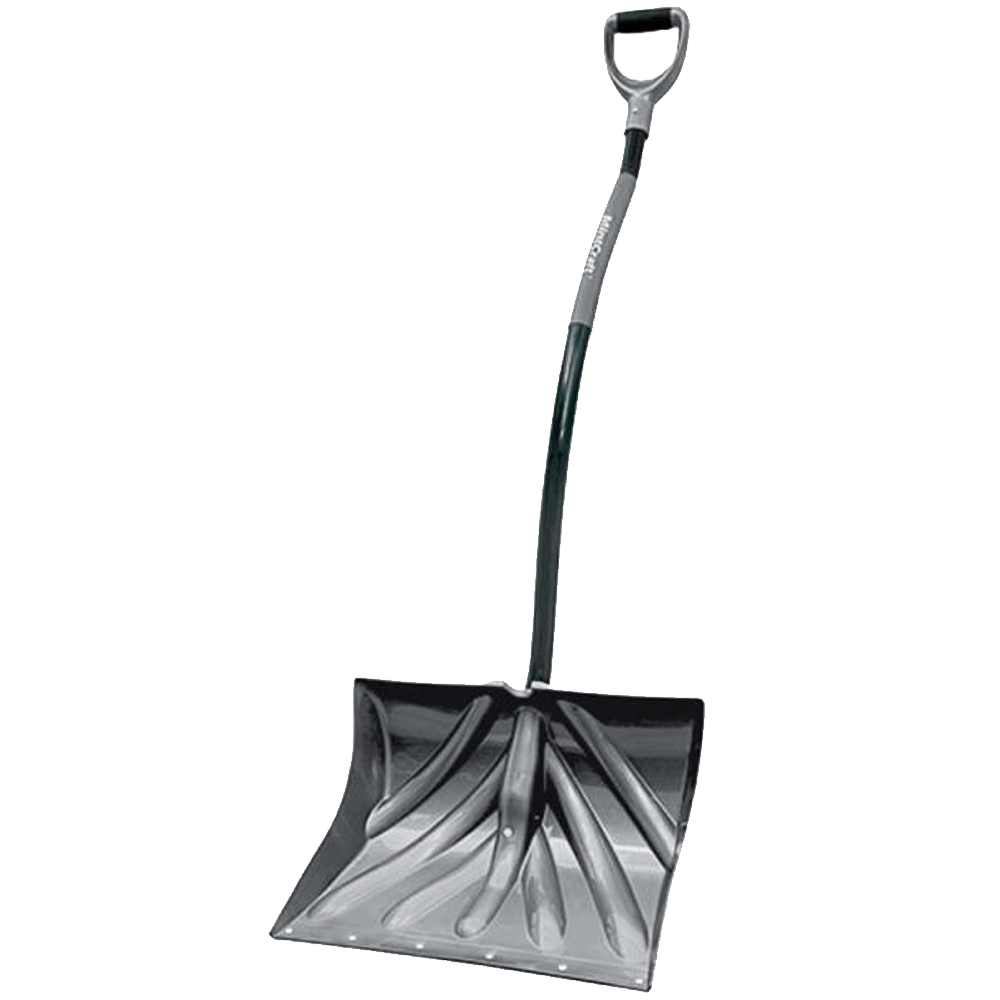 Snow shovel png. Cushioned dgrip inch d