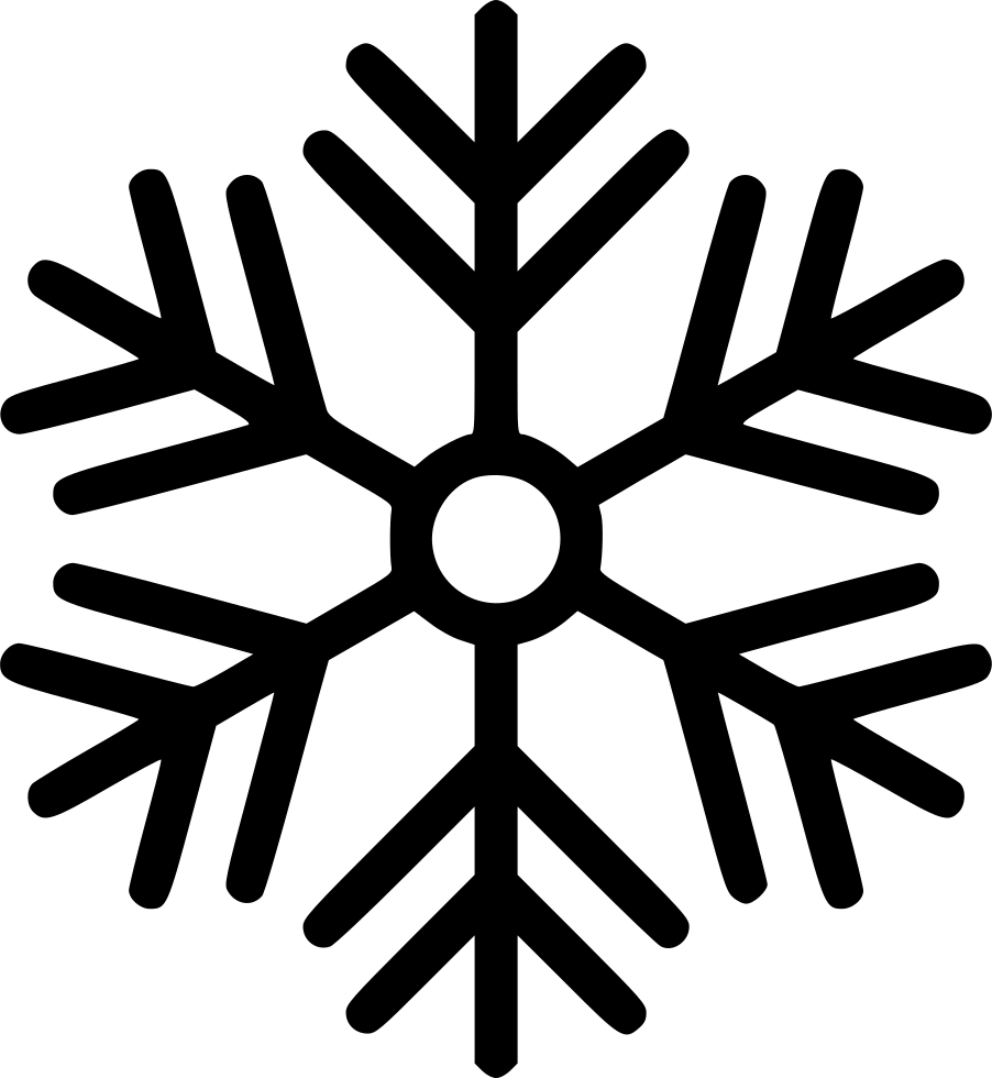 Snowflake winter png icon. Snow svg clip free