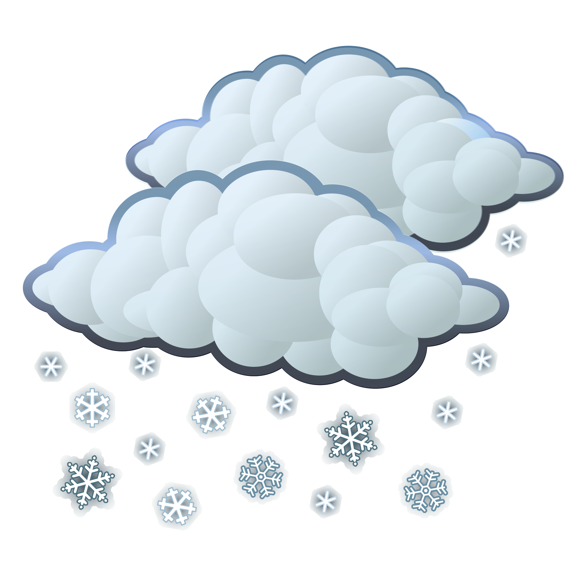 Snow svg. File wikimedia commons open