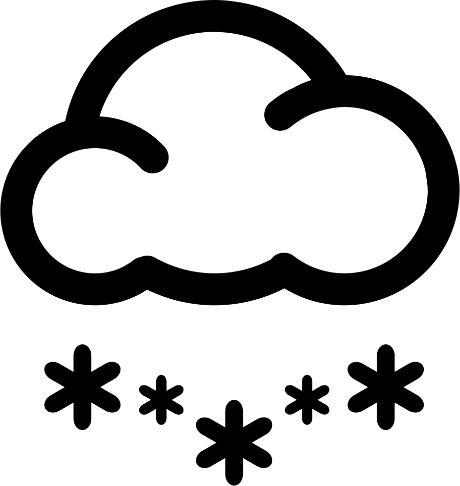 Snow svg. Heavy png icon free