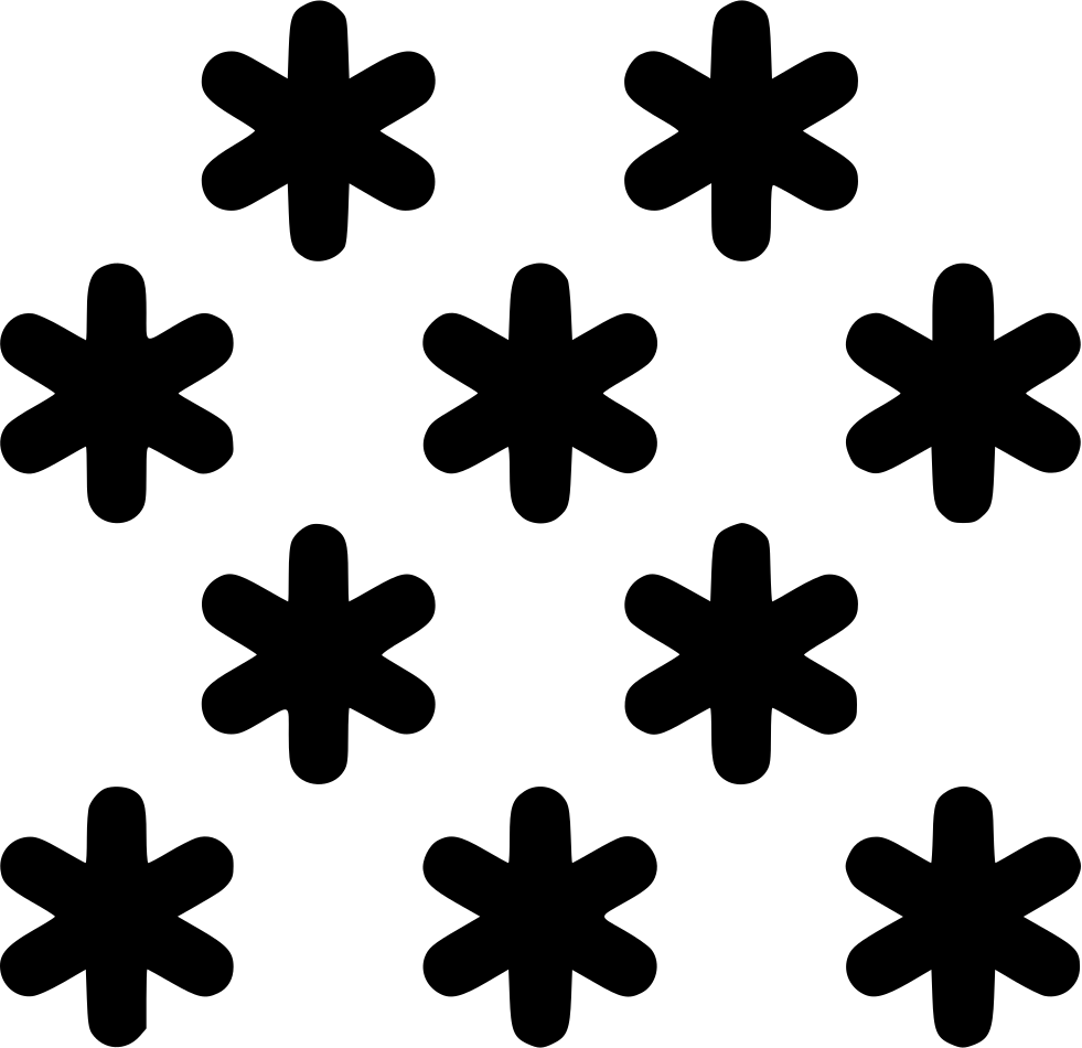 Png icon free download. Snow svg image black and white