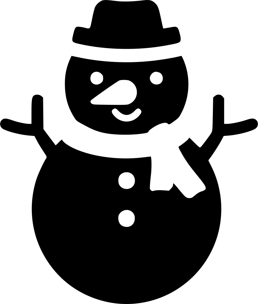 Snow svg frozen. Xmas snowman png icon