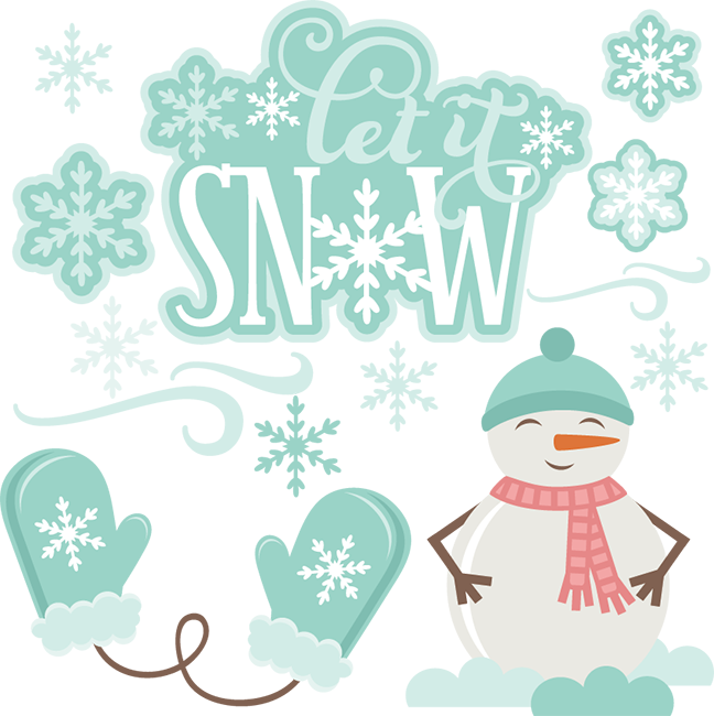 Snow svg winter. Let it cutting files