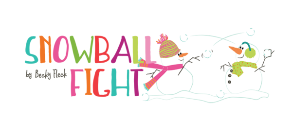 Snowball fight png. Photo play paper co