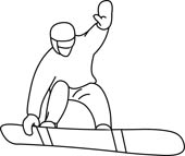 Snowboard clipart outline. Search results for clip