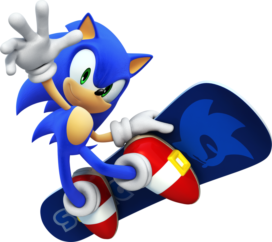 Snowboarding drawing poses. Sonic the hedgehog snowboard