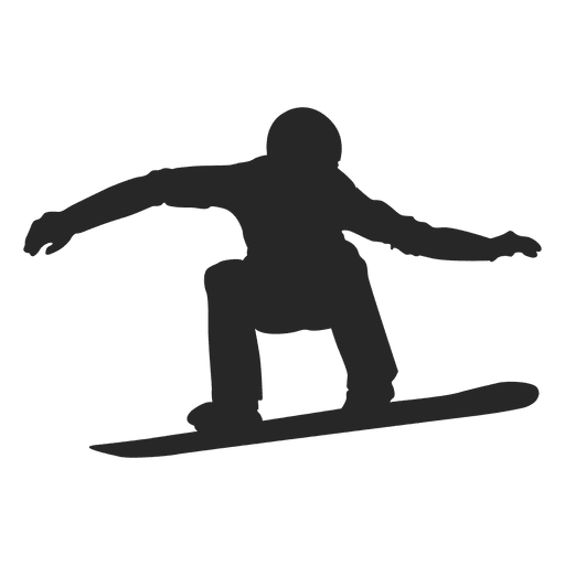 Snowboarding drawing watercolor. Silhouette svg transparent png