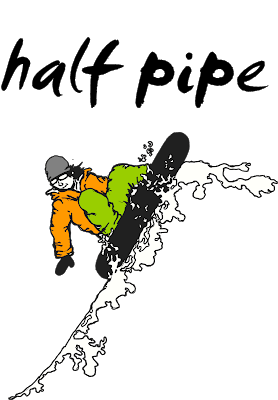 Snowboarding drawing. T shirt and hoodie