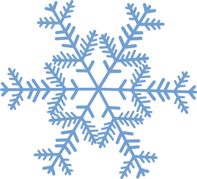 Snowflakes clipart transparent. Free snowflake banner cliparts