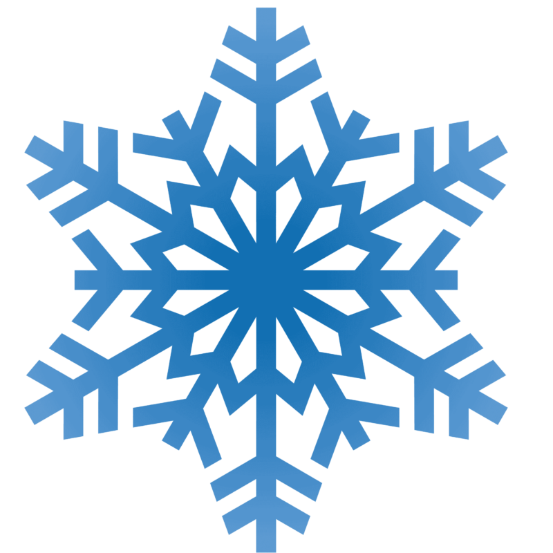 Snowflakes clipart transparent. Snowflake background free center