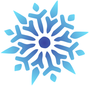 Snowflakes clipart. Free blue snowflake cliparts