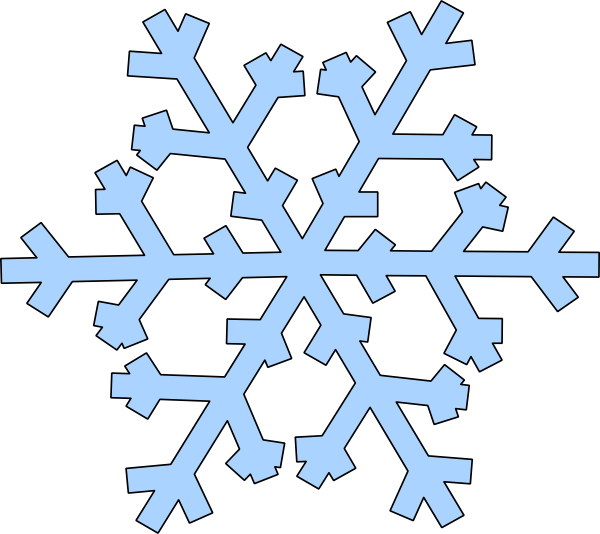 Vector chalkboard animated. Free plain snowflake cliparts