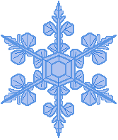 snowflakes clipart transparent