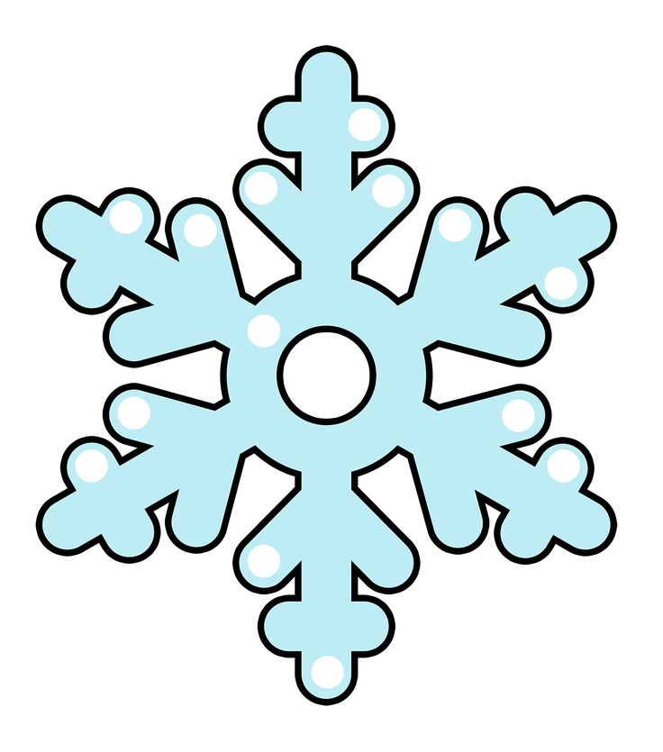 Snowflakes clipart cut out. Snowflake at getdrawings com