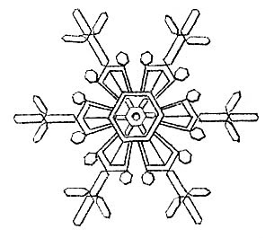 snowflakes clipart country