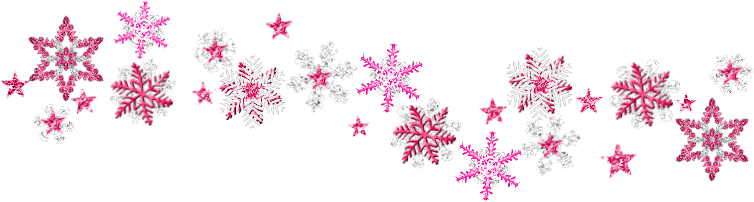 Snowflake divider png. Collection of clipart