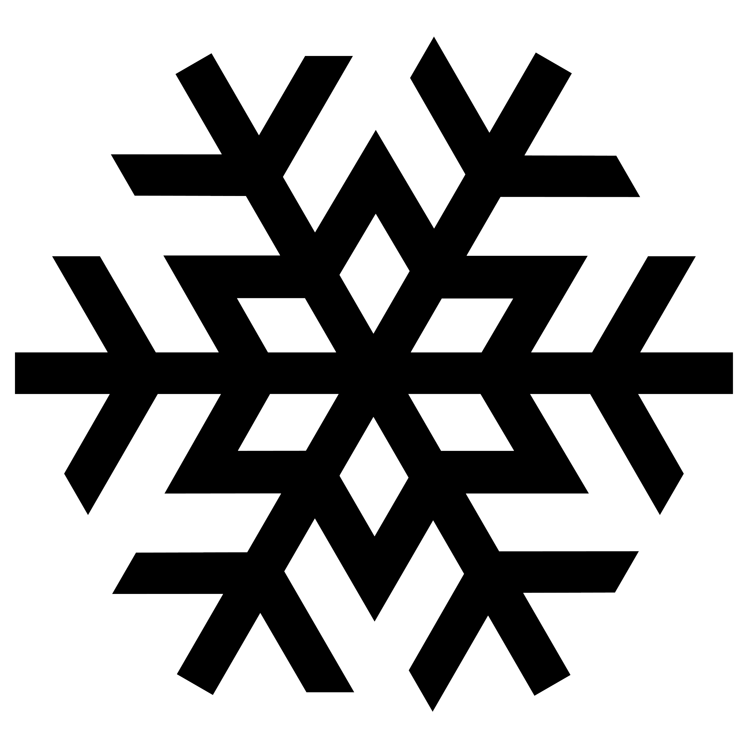 Snowflake silhouette png. Image